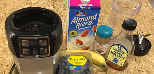Recipe Corner: Blueberry Banana Smoothie