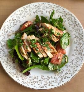 orange glazed chicken salad