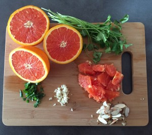 orange glazed chicken salad ingredients