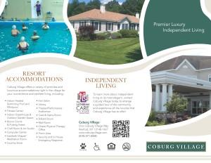 Coburg Village Brochure 2016 Page 1