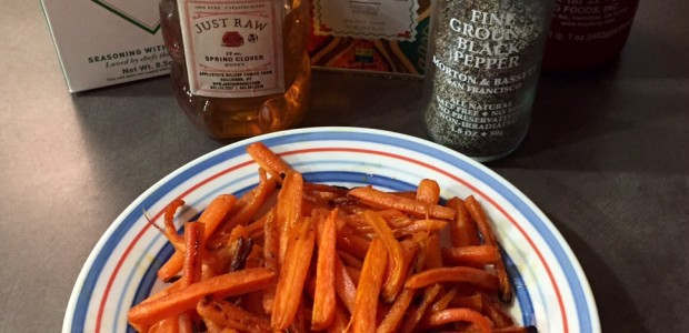 Recipe Corner: Sweet and Spicy Roasted Carrots